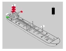 Su Çekimleri Nedeniyle Seyirleri Kısıtlı Olan Teknelerde seyir feneleri