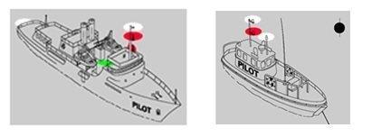 kılavuz teknelerinde seyir fenerleri