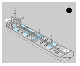 Demirli ve Karaya Oturmuş Teknelerde seyir fenerleri