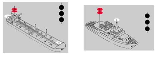 Boyu 100 metreden uzun olan teknelerin seyir feneri