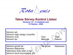 tekne sörvey listesi